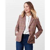 Highcombe Single Breasted Tweed Jacket