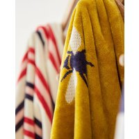Gold Bees Cotton Towel  Size Bath Sheet