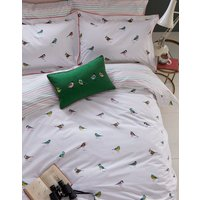 White Birds Great British Birds Duvet Cover  Size Kingsize