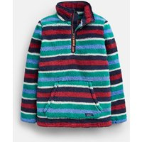 Navy Multi Stripe Woozle Fleece 1-12 Years  Size 9Yr-10Yr