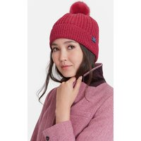 RUBY Bobble Cable Knit Hat  Size One Size