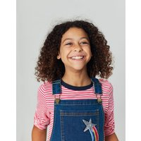 Kimberly Denim Dunagree Dress 3-12 Years