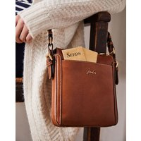 Tan Dunton Leather Cross Body Bag  Size One Size