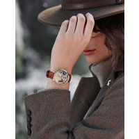Bloom LADIES LEATHER STRAP WATCH