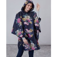 Anniversary Floral 30th Anniversary Poncho Showerproof Cover-up