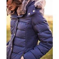 MARINE NAVY Caldecott Padded Coat  Size 8