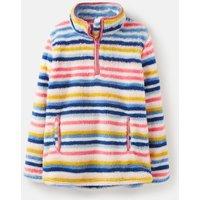 Multi Stripe Ellie Half Zip Fleece 3-12 Years  Size 11Yr-12Yr