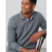 Woodwell Long Sleeve Classic Fit Polo