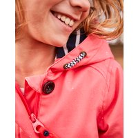 Bright Coral Coast Waterproof Jacket 3-12Yr  Size 7Yr-8Yr