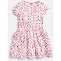 Cream Heart Geo Jude Jersey Raglan Sleeve Dress 3-12 Yr  Size 7Yr-8Yr