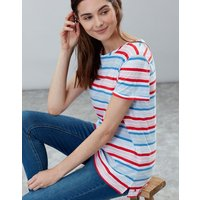 Red Multi Stripe Nessa Stripe Lightweight Jersey T-Shirt  Size 18