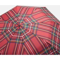 Red Tartan Red Tartan Minilite Compact Umbrella  Size One Size