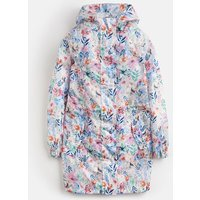 CREAM MULTI FLORAL Golightly PACKAWAY WATERPROOF JACKET 3-12yr  Size 3yr