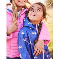 BLUE UNICORN CLOUDS Raindance WATERPROOF RUBBER COAT 1-12yr  Size 6yr
