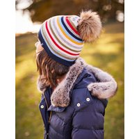 French Navy Flurrywell Pop-A-Pom Hat  Size One Size