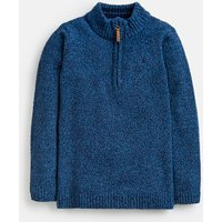 Ryan Half Zip Chenille Sweatshirt 1-12 Years
