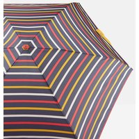 Hope Stripe Navy Tiny Compact Umbrella
