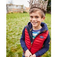 Red Crofton Quilted Gilet 1-12Yr  Size 5Yr