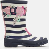 MARGATE FLORAL STRIPE 204093 Printed Wellies  Size Childrens 8