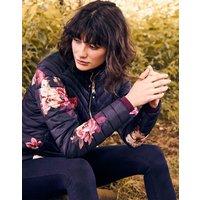 Elodie print Quilted jacket