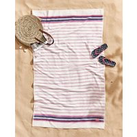 PURPLE STRIPES Potting shed stripe Towel  Size Hand