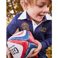 FRENCH NAVY Union RUGBY SHIRT 3-12yr  Size 5yr
