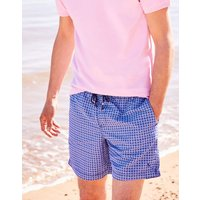 Navy Geo Heston Swim Shorts  Size S