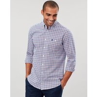Hewney Slim Fit Long Sleeve Peached Poplin Shirt