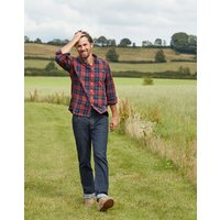 Straight Fit 5 Pocket Denim Jeans