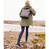 Grape Leaf Loxley Longline Waterproof Jacket  Size 18
