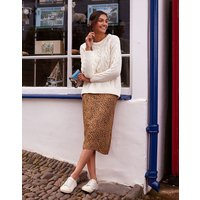 Ria Piped Seam Asymetric Skirt