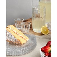 Set Of 4 Glass Side Plates