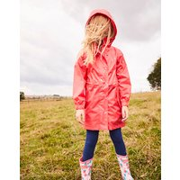 PINK FOIL STAR Golightly PACKAWAY WATERPROOF JACKET 3-12yr  Size 7yr-8yr
