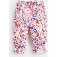 WHITE DITSY Bibi Woven Trousers  Size 12m-18m