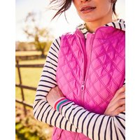 PINK Minx Quilted Gilet  Size 10