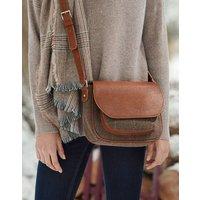 Darby tweed Saddle Bag