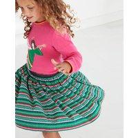 Kit Woven Pleated Skirt