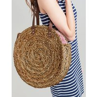 NATURAL Modena Round Summer Bag  Size One Size