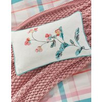 Cream Green Floral Swanton Floral Cushion  Size One Size
