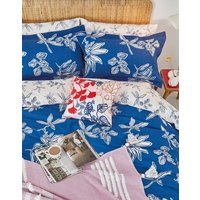 Cotton Duvet Cover Set With Matching Oxford Pillowcases