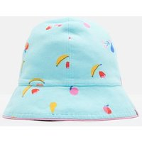 Aqua Fruit Sunseeker Reversible Bucket Hat  Size 0M-6M