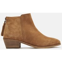 Tan Suede Langham Ankle Boot  Size Adult 6
