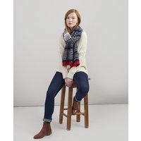 Swirlton Fairisle knitted scarf