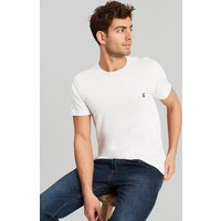 Laundered tee Plain Crew Neck T-Shirt