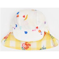 White Fruit Sunny Reversible Hat  Size 1Yr-2Yr