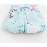 AQUA FLORAL Gabby Jersey Printed Culottes 1-6 Yr  Size 4yr