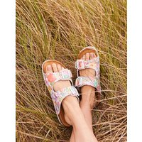 White Meadow Penley Printed Slider Sandal  Size Adult 5