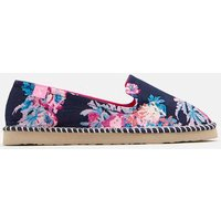 DARK BLUE FLORAL Flipadrille Lightweight Summer Shoe  Size Adult 6