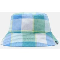 Blue Green Gingham Brit Reversible Bucket Hat