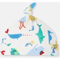 CREME SEA TIME 204675 Knotted Hat  Size 3m-6m